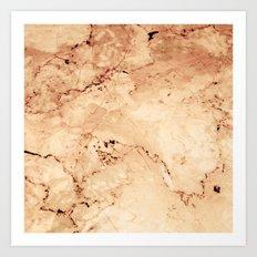 Rosado Marble Art Print