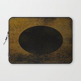 Rustic Dusk - Abstract, rustic, metallic artwork Laptop Sleeve