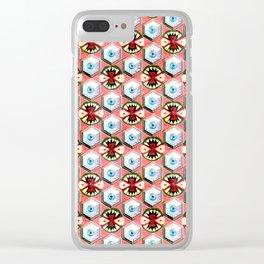 Secret Destroyer Clear iPhone Case