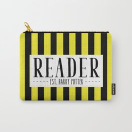 Reader Est. Hufflepuff Carry-All Pouch