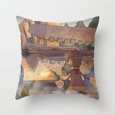 Occupy Gezi Throw Pillow
