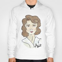 peggy carter Hoodies featuring Peggy Carter by Ash AROUH