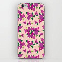 Buganvillea iPhone Skin