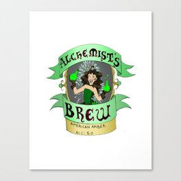Alchemist's Brew Canvas Print
