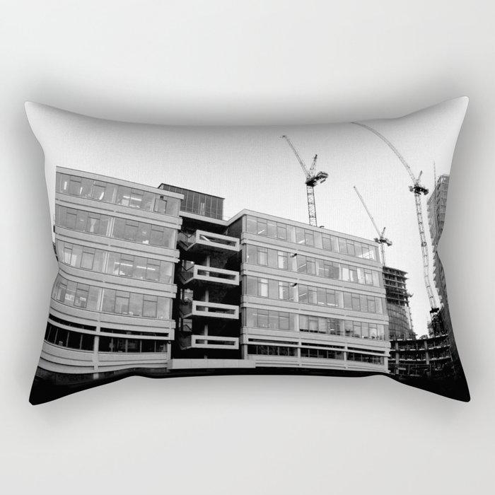 Modernity Lost Rectangular Pillow