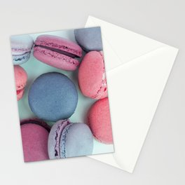Berry Macarons Photograph Stationery Cards