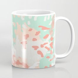 Pippa - Abstract minimal painted pastels painting trendy modern color palette Coffee Mug