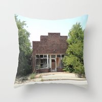 history Throw Pillows featuring History by durandurantulsa