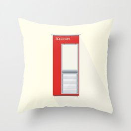 TELEFON Throw Pillow