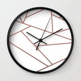 Contemporary Geometric Design Wall Clock