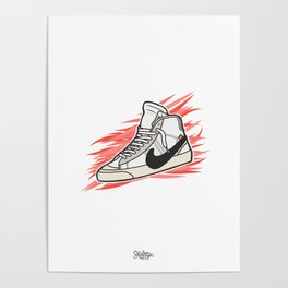 Blazer x Off White Poster