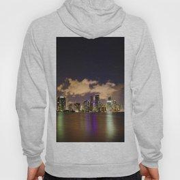 Downtown Miami Night Hoody