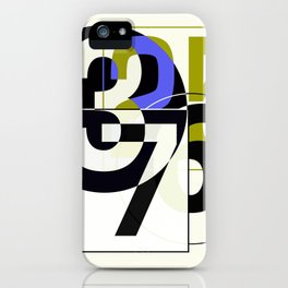 SRC Preparations Race Numbers One iPhone Case