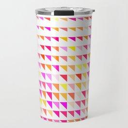 fete triangle pattern Travel Mug