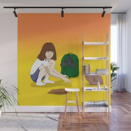 Old friend, I have a gift for you Wall Mural