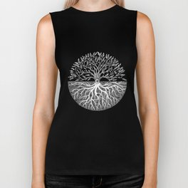 Druid Tree of Life Biker Tank