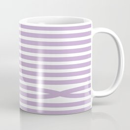 Stripes - Baby Lilac Coffee Mug