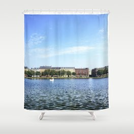 The Lakes Shower Curtain