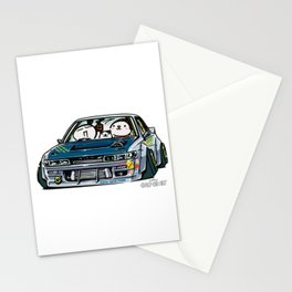 Crazy Car Art 0154 Stationery Cards