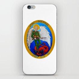 Saint Michael iPhone Skin