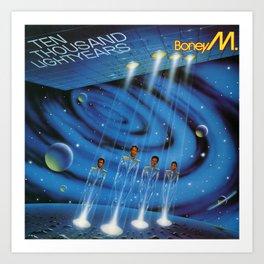 Boney M. - Ten Thousand Lightyears Art Print