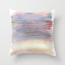 Bundle of Pastels Throw Pillow