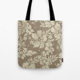 Hibiscus Pareau Hawaiian Floral Aloha Shirt Print Tote Bag