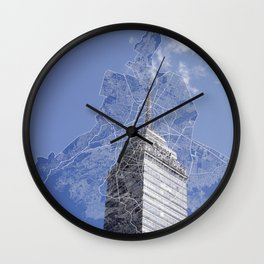 Mexico City Wall Clock