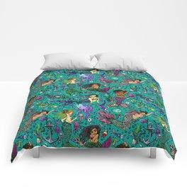 Ethnic Mermaid's Comforters