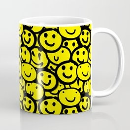 Smiley Face Yellow Coffee Mug