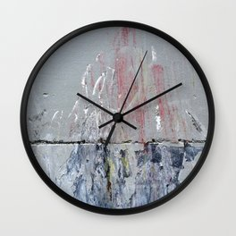 Urban Abstract 111 Wall Clock