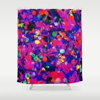 80s Shower Curtains featuring 80S by RUEI