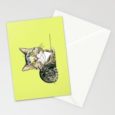 Green-eyed Cat Stationery Cards
