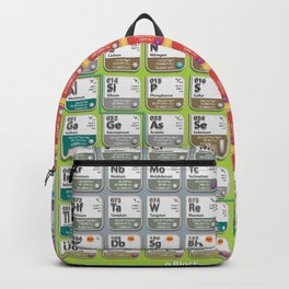 Periodic Table of Elements Backpack