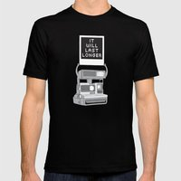 Take A Picture Black MEDIUM Mens Fitted Tee