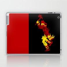 literal fireman Laptop & iPad Skin
