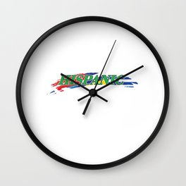 National Hispanic Heritage Month Wall Clock