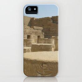 Temple of Medinet Habu, no. 2 iPhone Case