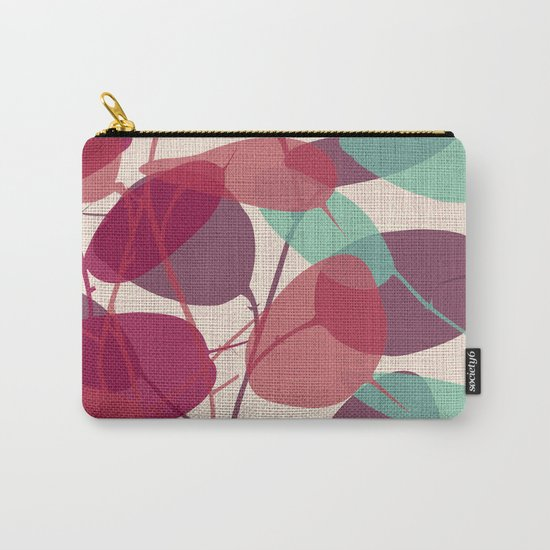 Lunaria purple Carry-All Pouch