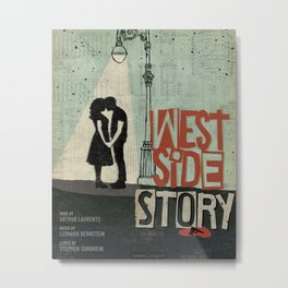 Print inspired by West Side Story Metal Print