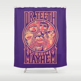 Electric Mayhem Shower Curtain