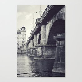 Bridge, Prague. Canvas Print