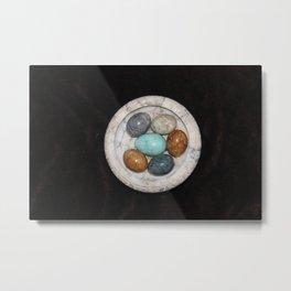 marble eggs Metal Print