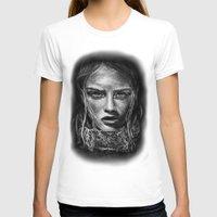 cara T-shirts featuring Cara Delevingne by Creadoorm