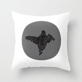 Fledgling; Throw Pillow