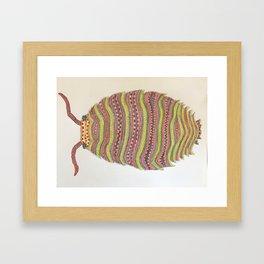 Artisan Isopod Framed Art Print
