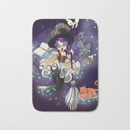 Library Witch Bath Mat