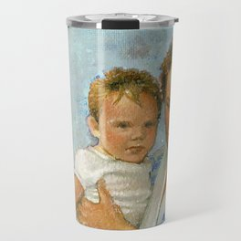 mother and child 2 Travel Mug
