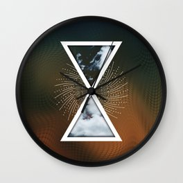 Ethereal Being - IV Wall Clock