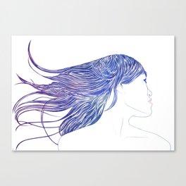 Tresses V Canvas Print